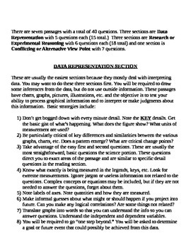 ACT Science Section---Strategies for Success