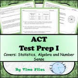 ACT Math Test Prep 1 - Distance Learning Included