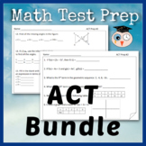 ACT - Math Test Prep Bundle