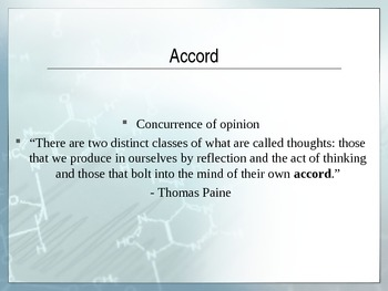 ACT Test Prep Vocabulary PowerPoint