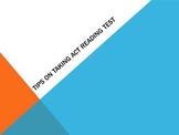 ACT Tips for Reading Test