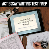 ACT Writing: 4+ Days of Essay Test Prep (2019-20 Edition)