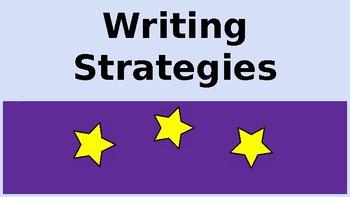 ACT Writing Strategies