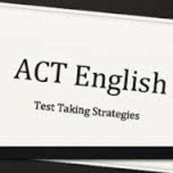 ACT test taking strategies
