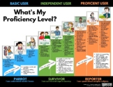 ACTFL chart- What's my proficiency level?