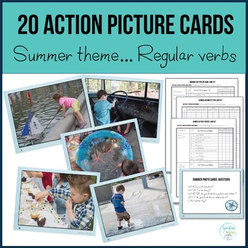 ACTION PHOTO CARDS: SUMMER THEME