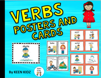 ACTION VERB CARDS AND POSTERS