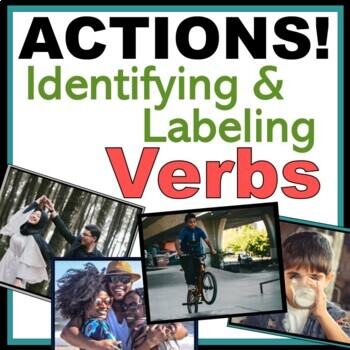 ACTION Words - Identify and Label: Autism, Speech, ABA