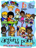 ACTIONS CLIPART FREEBIE PACK {Action Words, Verbs, Things I Can Do}