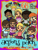 ACTIONS CLIPART PACK VOL.3 {Action Words, Verbs, Things I Can Do}