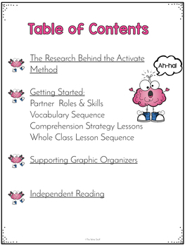 ACTIVATE Reading Comprehension System