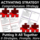 ACTIVATING PRIOR KNOWLEDGE STRATEGIES - CROSS CURRICULA