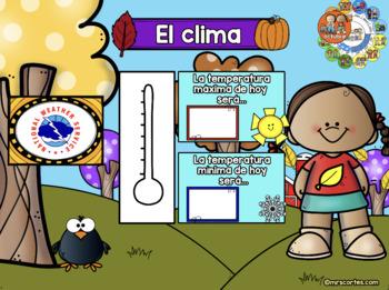ACTIVBOARD Calendar Math- October FALL VERSION (Spanish)