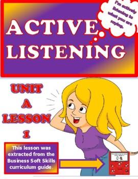 ACTIVE  LISTENING   Unit A   Lesson 1