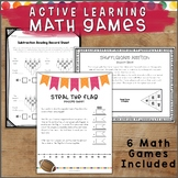 ACTIVE Learning Math Games & Sports for Kids Who Like to MOVE!