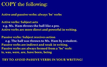 ACTIVE PASSIVE VOICE NOTES AND PRACTICE