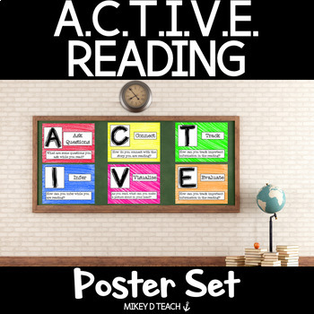 ACTIVE Reading Poster Set