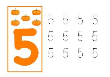 Math Activities (Pumpkins) | ACTIVIDADES MATEMÁTICAS (CALABAZAS)