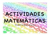 Math Activities (Part II) | ACTIVIDADES MATEMÁTICAS (CALAB