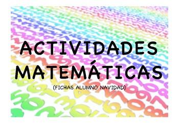 ACTIVIDADES MATEMÁTICAS NAVIDAD
