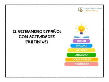 ACTIVIDADES MULTINIVEL. El refranero español.