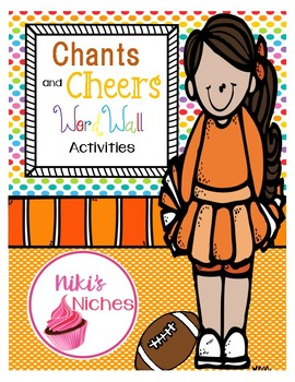 Chants & Cheers FOR ANY WORD LIST