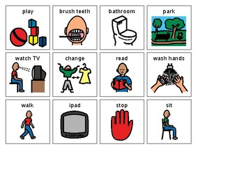 ACTIVITIES FREE PECS ICONS by My speech store | TpT