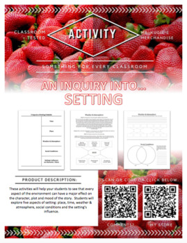 ACTIVITY - An Inquiry into...SETTING (Language Arts)