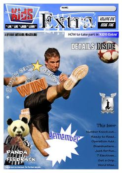 ACTIVITY MAGAZINE: Kids Extra: Volume ONE Issue 5