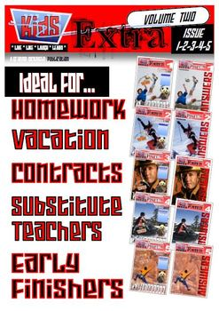 ACTIVITY MAGAZINE: Kids Extra: Volume 2 Issue 1-2-3-4-5