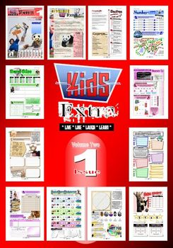 ACTIVITY MAGAZINE: Kids Extra: Volume 2 Issue ONE