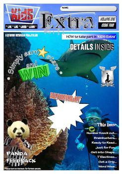 ACTIVITY MAGAZINE: Kids Extra: Volume ONE Issue 2