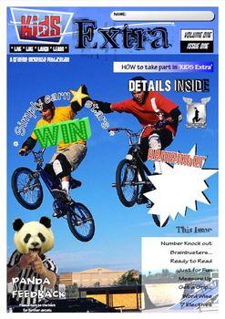 ACTIVITY MAGAZINE: Kids Extra: Volume ONE Issue 1