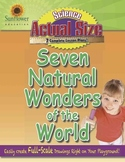 ACTUAL SIZE—SCIENCE: Seven Natural Wonders of the World