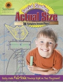 ACTUAL SIZE—SOCIAL STUDIES: Create Full-Scale Drawings Right on Your Playground!