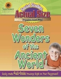 ACTUAL SIZE—SOCIAL STUDIES: Seven Wonders of the Ancient World