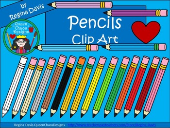 A+Clip Art: Pencils