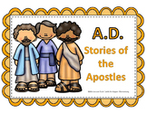 A.D. - Stories of the Apostles - Bible Lesson Task Cards f