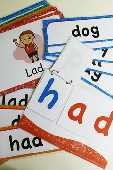 'AD WORD FAMILY' Phonics Lesson Package