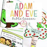 ADAM AND EVE BIBLE LESSON