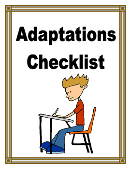 ADAPTED CHECKLIST