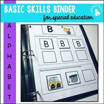 ADAPTED BINDER BUNDLE