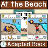 ADAPTED BOOK-AT THE BEACH (PreK-2/SPED/ELL)