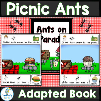 ADAPTED BOOK-Ants (PreK-2/SPED/ELL)