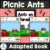 ADAPTED BOOK-Ants, Insects, and a Picnic (PreK-2/SPED/ELL)