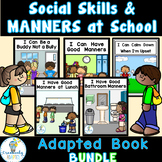 Social Skills & Manners Adapted Book Bundle