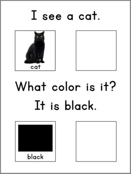 COLORS- Adapted Book