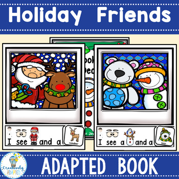 ADAPTED BOOK-December Holidays (Autism/SPED/ELL)