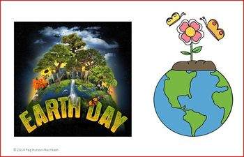 EARTH DAY: AN INTERACTIVE BOOK