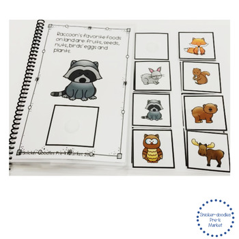 ADAPTED BOOK FOREST ANIMAL PREPOSITIONS